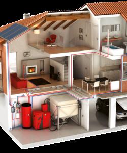 Живете в частном доме — тогда лучшим вариантом станет воздушное отопление
