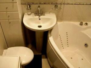 Ванна и туалет вместе