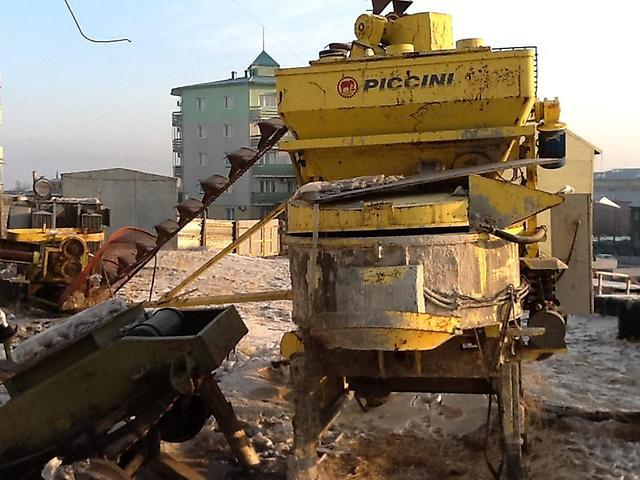 Покупка бетоносмесительной установки