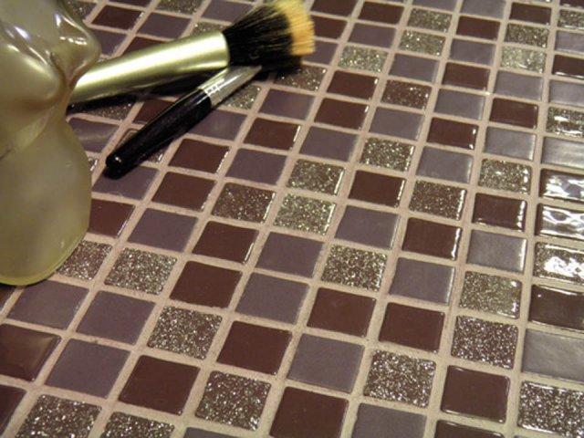 Оригинальная мозаика на кухне