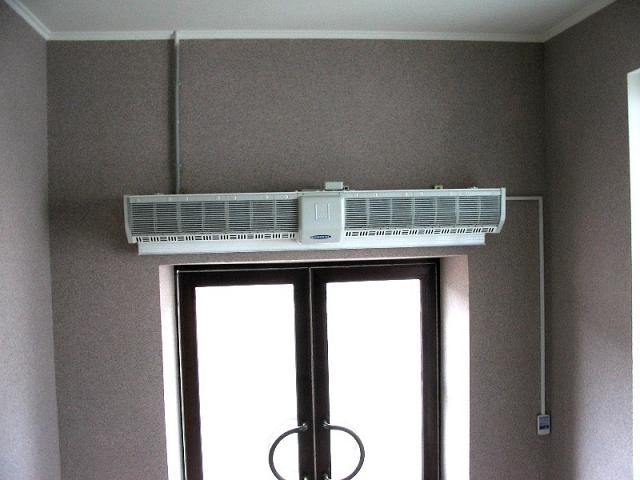 Важные характеристики тепловых завес
