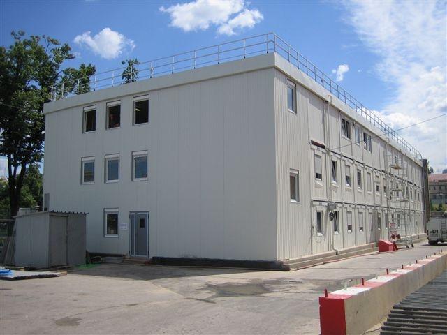 Современные модульные офисные здания